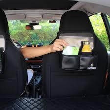 <b>Black</b> Car Seat Back Bag Chair Unique Phone Holder <b>Smart Fortwo</b> ...