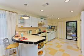 shaped vintage kitchen design