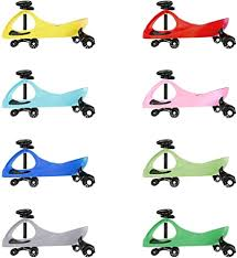 Eightbit <b>Swivel Car</b> Rolling Ride-On-<b>Car</b>, Indoor/Outdoor, Pink ...