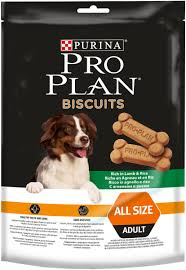 "<b>Лакомство Pro Plan</b> ""Biscuits"" для собак, с ягненком и рисом, 400 г ..."