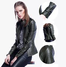 China <b>High Quality</b> Hot Sale <b>Winter Women</b> Coat Motorcycle PU ...