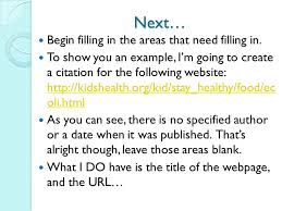 research paper in text citation FAMU Online