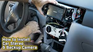 How to Install a Car <b>Stereo</b> and Backup <b>Camera</b> - Toyota Corolla ...