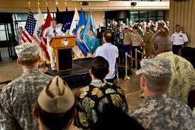u s department of defense photo essay defense secretary leon e panetta speaks to service members and civilian employees of u s pacific