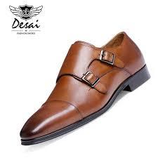DESAI <b>Brand Luxury</b> Genuine Leather <b>Men Oxford</b> Shoes Pointed ...