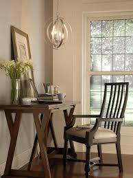 glam chandelier home office lighting