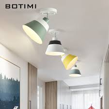 <b>BOTIMI</b> E27 <b>LED Ceiling</b> Lights With <b>Metal</b> Lampshade For Corridor ...