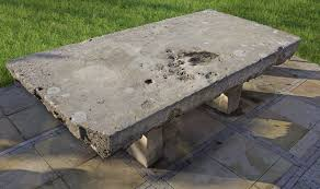 A <b>massive</b> Continental limestone garden <b>dining table</b> — Piet Jonker ...