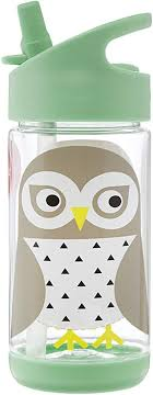 3 Sprouts Water Bottle - Kids Small <b>Spill Proof 12oz</b>. Tritan Plastic ...