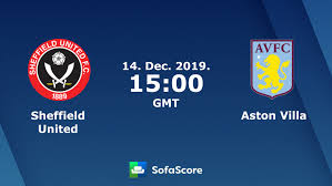Sheffield United Aston Villa live score, video stream and H2H results ...