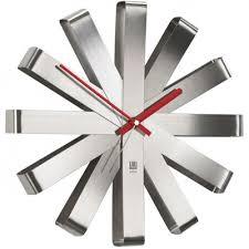 <b>Часы настенные Umbra Ribbon</b> сталь — купить в интернет ...