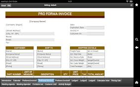 com proforma invoice appstore for android