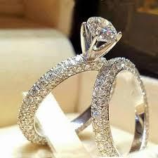 Modyle 2019 New Fashion Jewelry 2pcs/set Brand Silver Color Ring ...