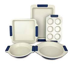 Buy <b>Vitesse</b> 5-piece Bakeware Set, Nonstick Carbon Steel Online at ...