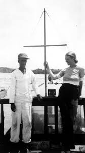 carlos gutierrez and jane mason aboard the anita john f kennedy carlos gutierrez and jane mason aboard the anita