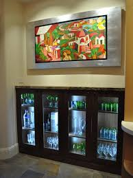 kitchen display cabinet with glass doors and in cabinet lighting cabinet lighting diy