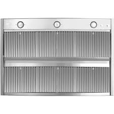 series vent hood: trade wind  series  inch barbecue grill hood commercial grade stainless steel baffles