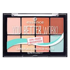 <b>Палетка</b> консилеров для <b>лица</b> `ESSENCE` <b>YOU</b> BETTER WORK ...