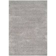 safavieh laguna shag silver 4 ft x 6 ft area rug sgl303s california shag black 4 ft