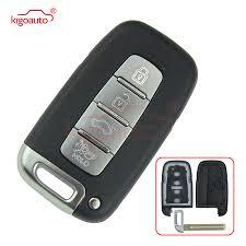 <b>Kigoauto Smart key</b> case shell for Hyundai IX35 I30 Control Fob 4 ...