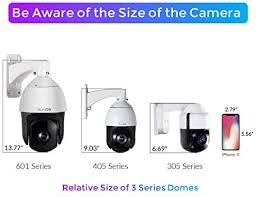 SUNBA 3MP Starlight PoE+ Outdoor PTZ Camera ... - Amazon.com