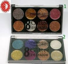 <b>Палетка глиттеров для век</b> Seven Cool 8 GLITTER Eyeshadow ...
