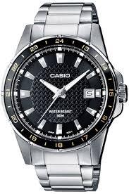 <b>Мужские</b> кварцевые наручные <b>часы Casio MTP</b>-<b>1290D</b>-<b>1A2</b> ...