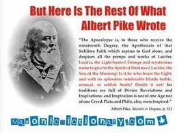 Freemason Albert Pike and the Luciferian Quote | God Drinks Beer