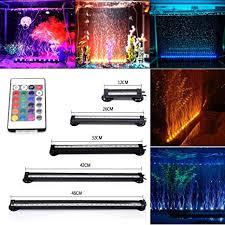 DOCEAN <b>Fish Tank</b> Light Waterproof <b>Aquarium</b> Lights Remote ...