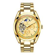 MagiDeal <b>Luxury</b> TEVISE <b>Automatic Mechanical Watch</b> Stainless ...