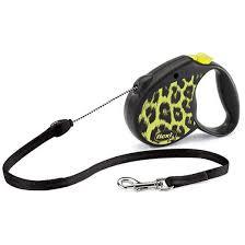 "<b>Рулетка Flexi</b> ""<b>Safari Leopard</b>"", M, 5 м, до 20 кг, жёлтый   Купить с ..."