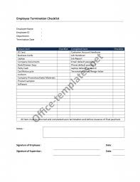 termination checklist jpg termination checklist