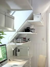 clean and bright home office design idea bright home office design