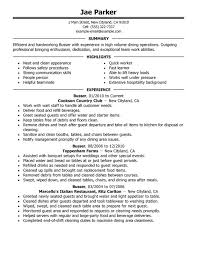 unforgettable busser resume examples to stand out myperfectresume restaurant server sample resume
