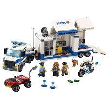 <b>Конструктор LEGO City Police</b> Мобильный командный центр ...
