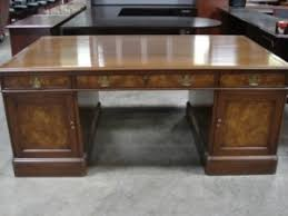 expensive office furniture. at 50 percent off the normal price this kittinger desk gives you a rare opportunity to have same fancy office furniture as commanderinchief for expensive i