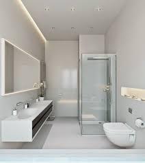 funky bathroom lights: elegant modern ideas bad beleuchtung led decke wandnische indirekt