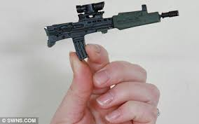 Image result for toy five inch gun