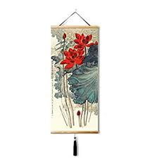 EAPEY Chinese mural painting, silk Chinese painting ... - Amazon.com