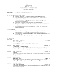 resume for manufacturing job perfect resume  resume for manufacturing job