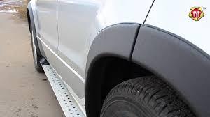 <b>Расширители колесных арок</b> вынос 25 мм Suzuki Grand Vitara ...