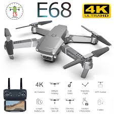 Helicopters <b>E68</b> Foldable Quadcopter <b>WIFI FPV</b> with 4K/1080P ...