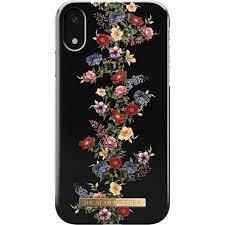 Купить <b>чехол</b> ideal of sweden <b>fashion case для</b> iphone xr dark floral ...