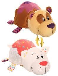 Мягкая игрушка <b>1 TOY Вывернушка</b> Ням-Ням Панда-Кошечка с ...