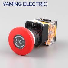 P91 Emergency Stop <b>10A</b> 380V <b>22mm</b> Self Locking head power ...