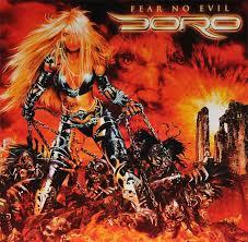 <b>Doro</b> -<b>Fear No</b> Evil (2009) | Heavy metal girl, Heavy metal art, Album ...