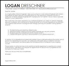Junior Network Engineer Cover Letter Sample Perfect Resume Example Resume And Cover Letter