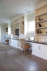 built in shelves and desks built office desk