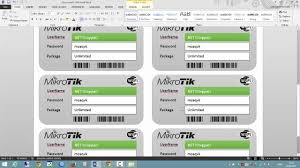 mikrotik microsoft word internet ticket by amnuay pintong mikrotik microsoft word internet ticket by amnuay pintong