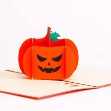 3D Тыква, череп на Хеллоуин <b>открытка ручной работы</b> ...